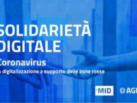 Emergenza Coronavirus: agevolazioni digitali per chi vive nella zona rossa