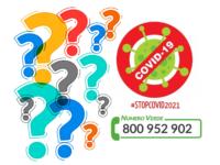 Numero verde Covid 800 952 902: ancora dubbi sui vaccini, caos spostamenti per Pasqua